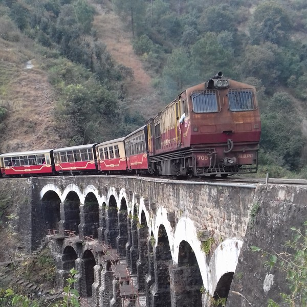 Kalka Shimla Mountain Railways - The Toy Train