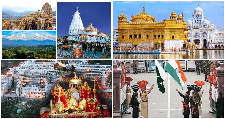 Himachal and Amritsar with Vaishno Devi Temple Tour Package