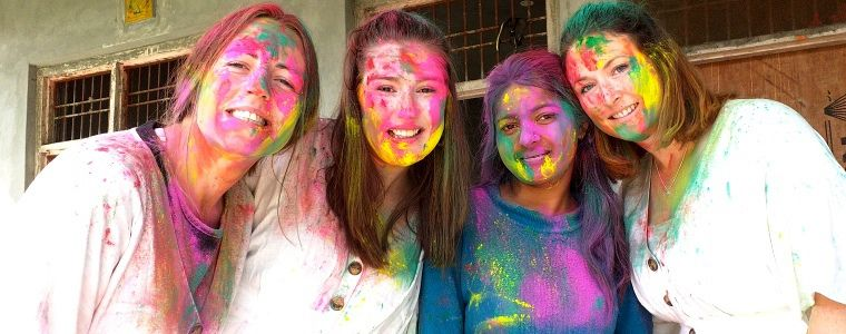 HOLI The Festival of Colors India Tour