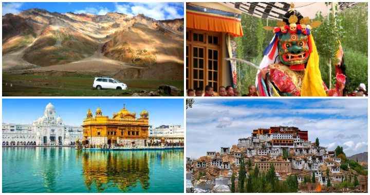 India's Golden Temple: Amritsar with Journey to Ladakh
