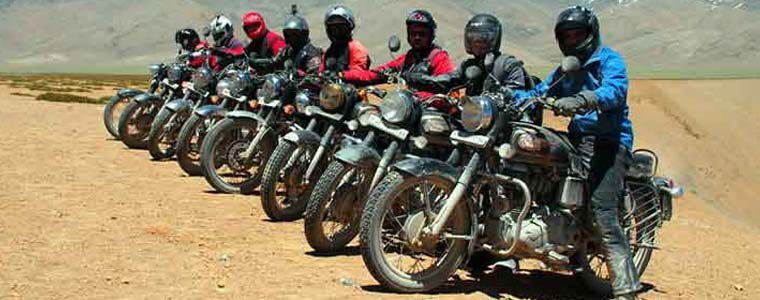 Manali Leh Motor Bike Tour