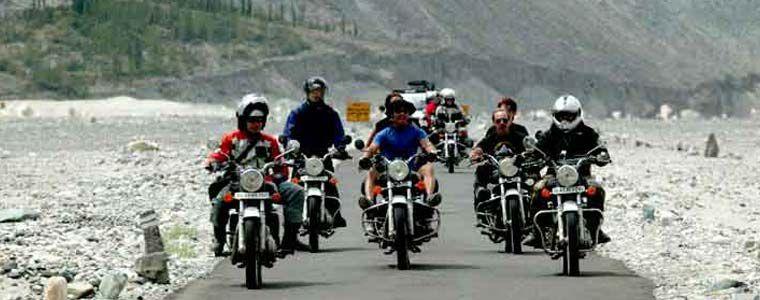 Royal Enfield Himalayan Tour
