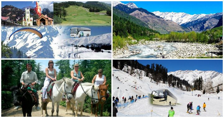 Shimla Manali Volvo Tour Package