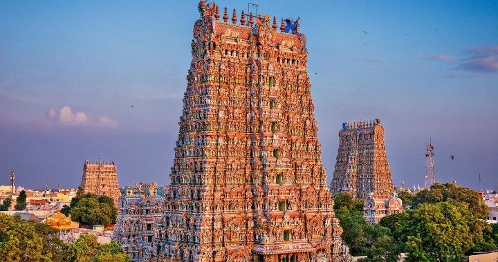 South India Temple Tour With Exotic Kerala